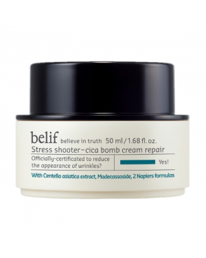 Belif - Stress Shooter - Cica Bomb Cream Repair - 50ml