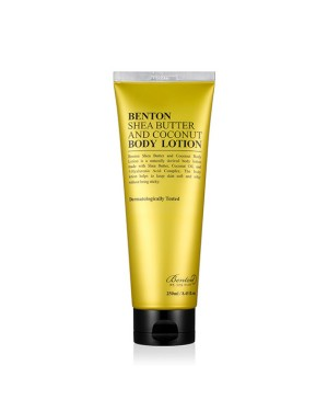 Benton - Shea Butter & Coconut Body Lotion - 250ml