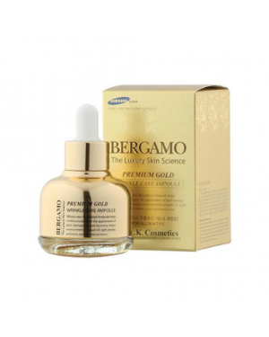 Bergamo - The Luxury Skin Science Premium Gold Wrinkle Care Ampoule - 30ml