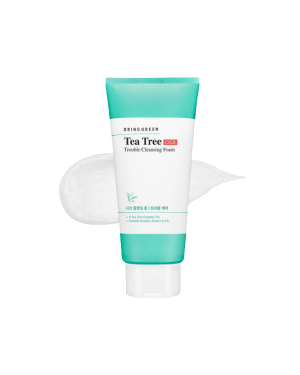 BRING GREEN - Tea Tree Cica Trouble Cleansing Foam - 300ml