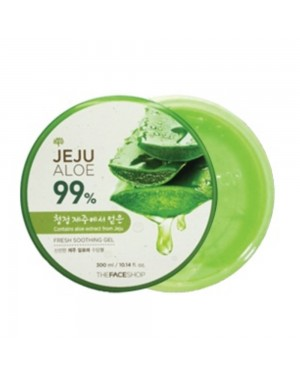 THE FACE SHOP - Fresh Jeju Aloe 99% Gel Apaisant