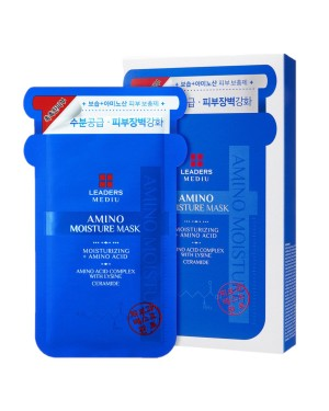 Leaders - Mediu Amino Moisture Mask - 10pcs