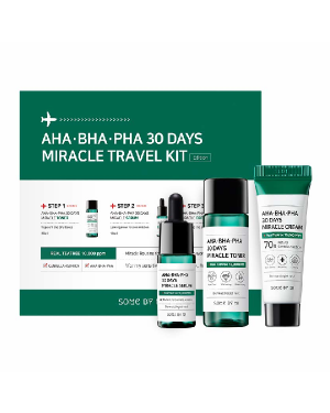 SOME BY MI - AHA. BHA. PHA 30 Days Miracle Kit de voyage - Édition