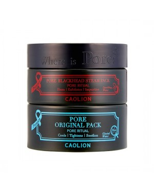 CAOLION - Premium Hot & Cool Pore Pack Duo - 50g