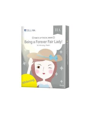 CELLINA - Time's up Facial Mask Whitening Mask - 5PCS