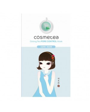 COSMETEA - Tea Control Mask - Oolong Pore - 1pack (10pcs)