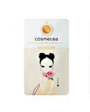 COSMETEA - Tea Control Mask - Rooibos Revital - 1pack (10pcs)