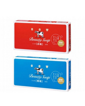 COW soap - Beauty Soap Bar - 100g x3