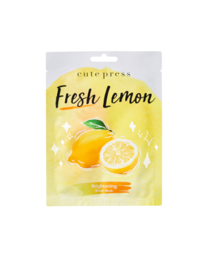 Cute Press - Masque éclaircissant au citron - 24g
