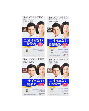 Dariya - Salon de Pro Hair Color Cream - 1set