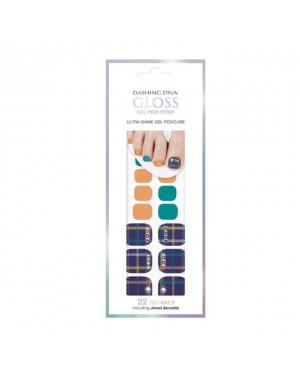 Dashing Diva - Magic Gel Strip Scottish Classic GPS10 - 22pcs