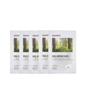 Daymellow - Snow Mushroom Real Masque ampoule - 27ml*5ea