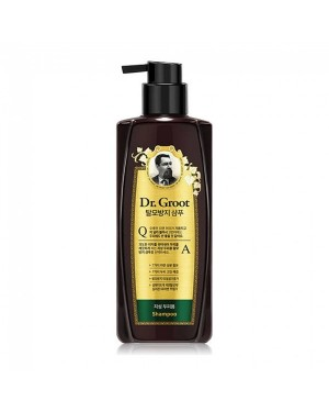 Dr. Groot - Shampooing anti-chute des cheveux pour la croissance des cheveux - pour le cuir chevelu gras - 400ml
