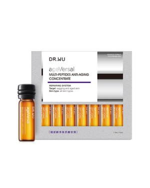 DR.WU - Ageversal Multi-Peptides Anti-Aging Concentrate - 7pcs