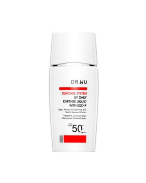 DR.WU - UV DAILY DEFENSE LIQUID WITH EXO-P SPF50+ - 30ml