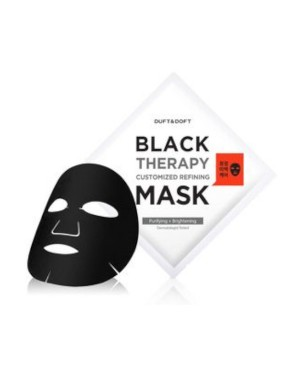 DUFT & DOFT - Black Therapy Customized Refining Mask - 1pc