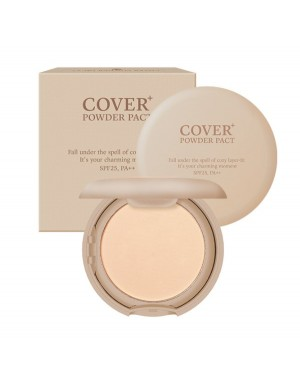 EGLIPS - Eglips - Cover Powder Pact (SPF25 PA++) - 9g