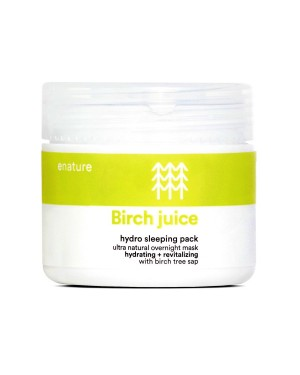 E NATURE - Birch Juice Hydro Pack de couchage - 70ml