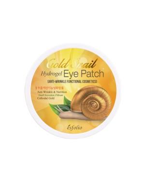 esfolio - Patch pour les yeux en hydrogel d'escargot doré - 60pcs
