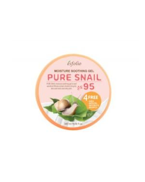 esfolio - Pure Snail Gel Hydratant Apaisant 95% - 300ml