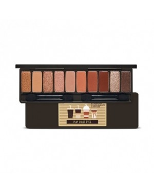 Etude House - Play Color Eyes Palette #Caffeine Holic (No Syrup Coffee To Go Edition)