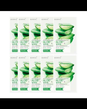 EUNYUL - Pack Masque Hydratant Naturel - Aloès - 10pcs
