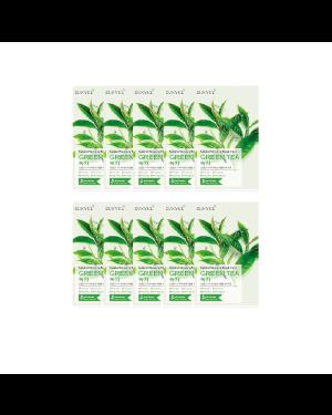 EUNYUL - Pack Masque Hydratant Naturel - Thé Vert - 10pcs