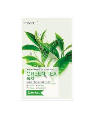 EUNYUL - Pack Masque Hydratant Naturel - Thé Vert - 1pc