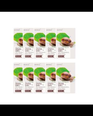EUNYUL - Pack masque hydratant naturel - Escargot - 10pcs