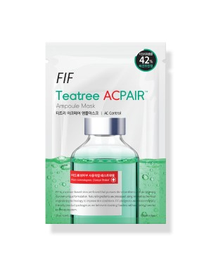 Faith in Face - FIF Teatree ACPAIR Ampoule Mask - 1pc