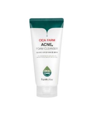 Farm Stay - Cica Farm Mousse nettoyante contre l'acné - 180ml