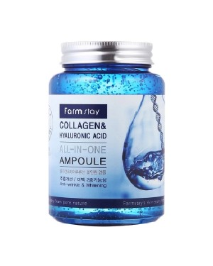 Farm Stay - Collagen&Hyaluronic Acid All-In One Ampoule - 250ml