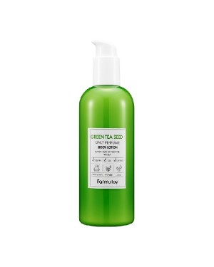 Farm Stay - Daily Perfume Body Lotion - Green Tea Seed - 330ml