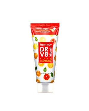 Farm Stay - Dr-V8 Vitamin Foam Cleansing