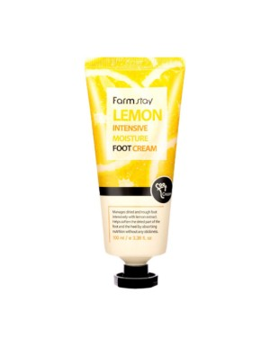 Farm Stay - Lemon Intensive Moisture Foot Cream - 100ml