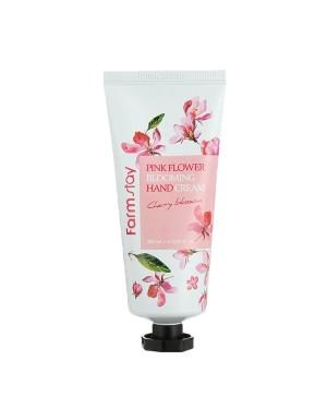 Farm Stay - Pink Flower Blooming Hand Cream - 100ml - Cherry Blossom