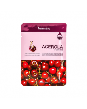 Farm Stay - Visible Difference Mask Sheet - Acerola - 1pc