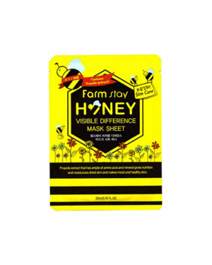 Farm Stay - Visible Difference Mask Sheet - Honey - 1pc