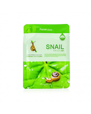 Farm Stay - Visible Difference Mask Sheet - Snail - 1pc
