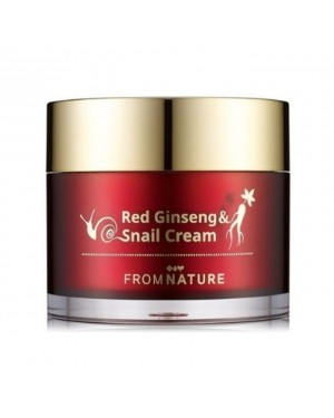 FROM NATURE - Red Ginseng & Snail Cream - 100ml