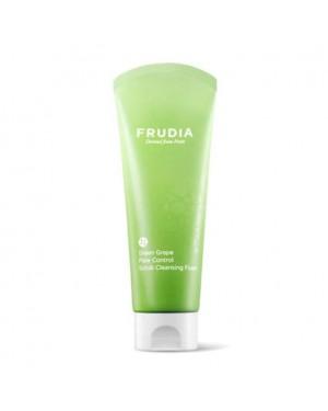 FRUDIA - Green Grape Pore Control Scrub Cleansing Foam - 145ml