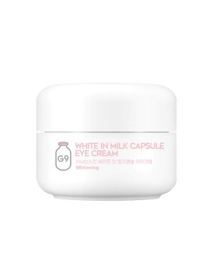G9SKIN - White In Milk Capsule Eye Cream