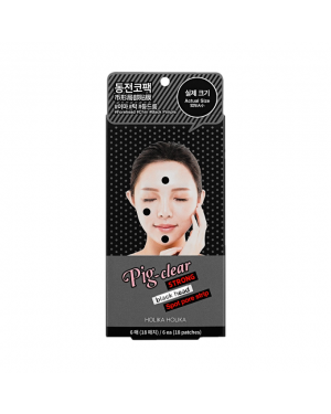 HolikaHolika - Pig Nose Clear Strong Blackhead Spot Pore Strip Pack