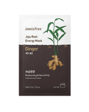 innisfree - Jeju Root Energy Mask - Ginger - 1pc