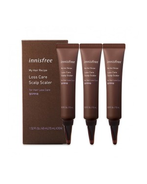 innisfree - My Hair Recipe Loss Care Scalp Scaler - 1pack(3pcs)