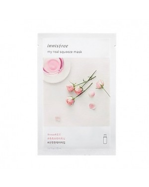 innisfree - My Real Squeeze Mask Ex - Rose - 1pc