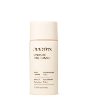 innisfree - Simple Label Tinted Moisturizer - 40ml