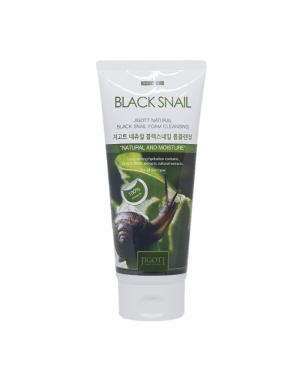 Jigott - Natural Foam Cleansing  No.Black Snail- 180ml