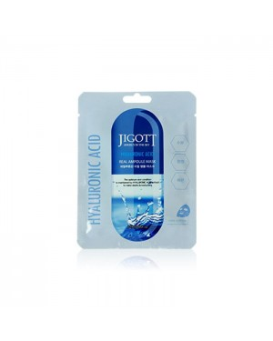 Jigott - Real Ampoule Mask Acide hyaluronique - 1pc