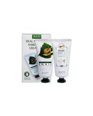 Jigott - Real Moisture Hand & Foot Cream Set - 1pack(2items)